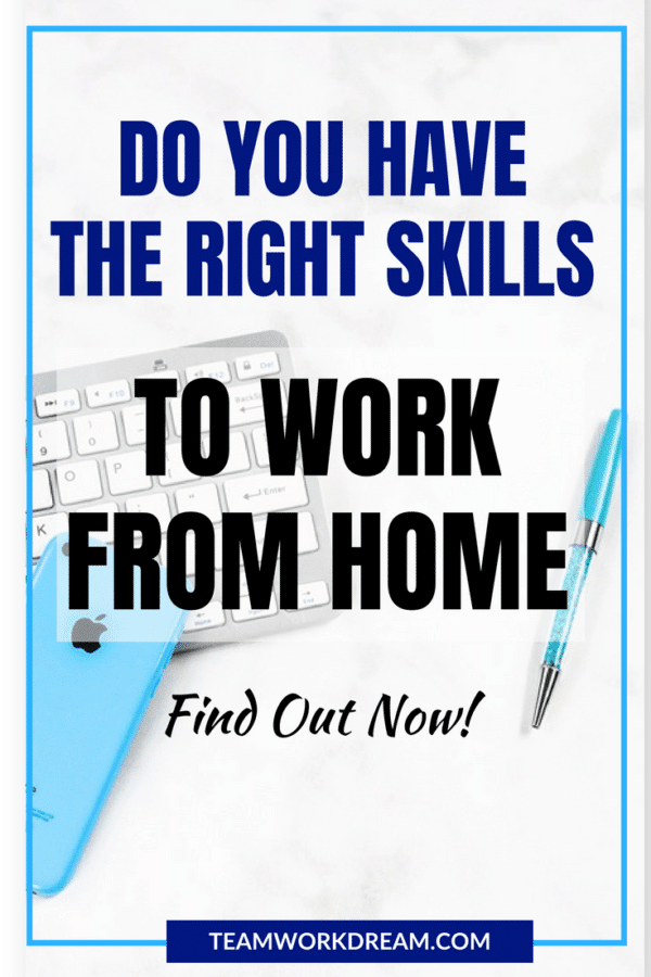 Do you have the right skills and qualities to work online from home? Find out now!