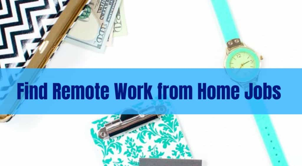 WAnt to know how to find remote work from home jobs? Get tips on how to get the best paying legitimate jobs and earn a great income online no matter where you are located in the world. #remoteworkfromhome #remotework #onlinework #workfromhome #makemoneyonline