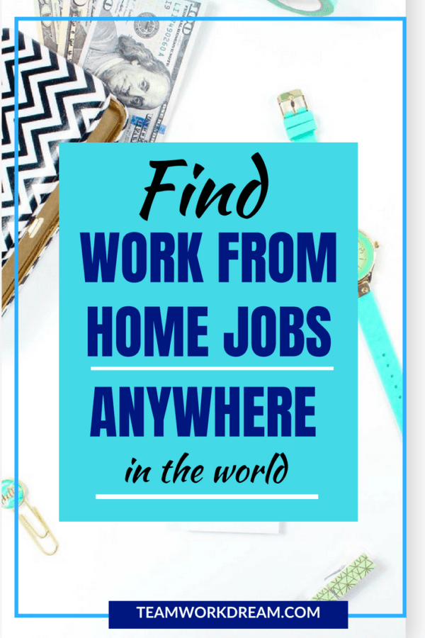 Find remote work from home jobs anywhere in the world. Find great paying jobs working from the comfort of your home.
