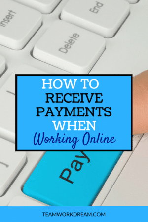 how to receive payment online
