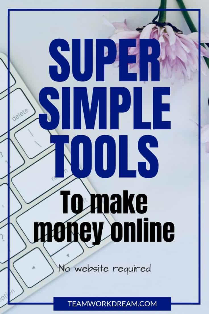 Super Simple Essential Tools needed to start successfully working from home. Make money online with these 5 must-have tools. Find out more #essetnialtools #workfromhome #earnmoneyonline #makemoneyonline