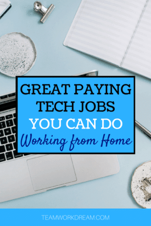 Great paying entry level IT jobs that you can work from the comfort of home.
