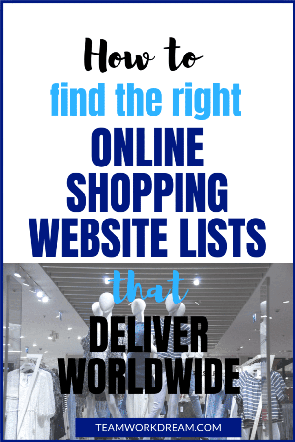 Are you based outside the USA and UK? Want to buy goods online? Find the right online shopping website lists that deliver worldwide. Get your online items no matter where you are located. #buyonline #makeonlinepurchases #shoponline #onlineshopping