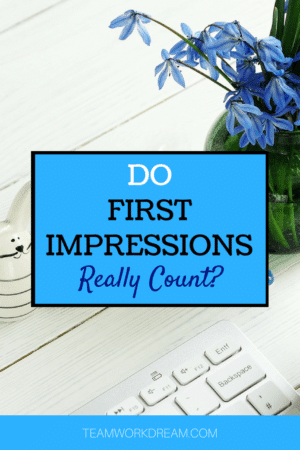 Do first impressions count working online. find out how to make a good first impressions when wanting to work online as remote worker.