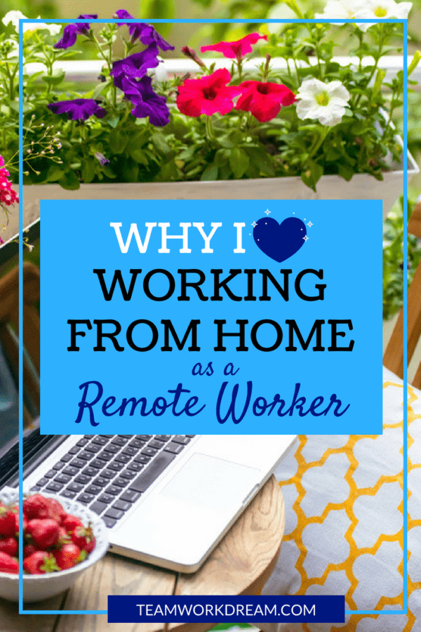 Why do you work from home 2