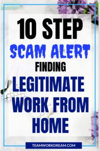 Follow the 10 Steps to find Real Work From Home Jobs Today