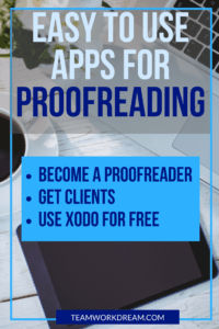 Find out what the best apps are to provide a proofreading and editing service online. work from home by doing proofreading easily with the right training and the right apps #proofreading #proofreadingandediting #workfromhome #makemoneyathome #makemoneyonline #earnfromhome