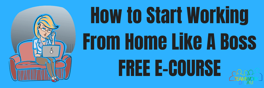 Work from home like a boss free e-coruse