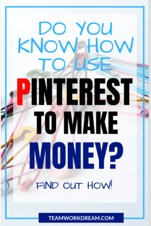 How to use Pinterest to make money online