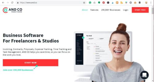 Use Andco To Streamline Your Freelancing Business