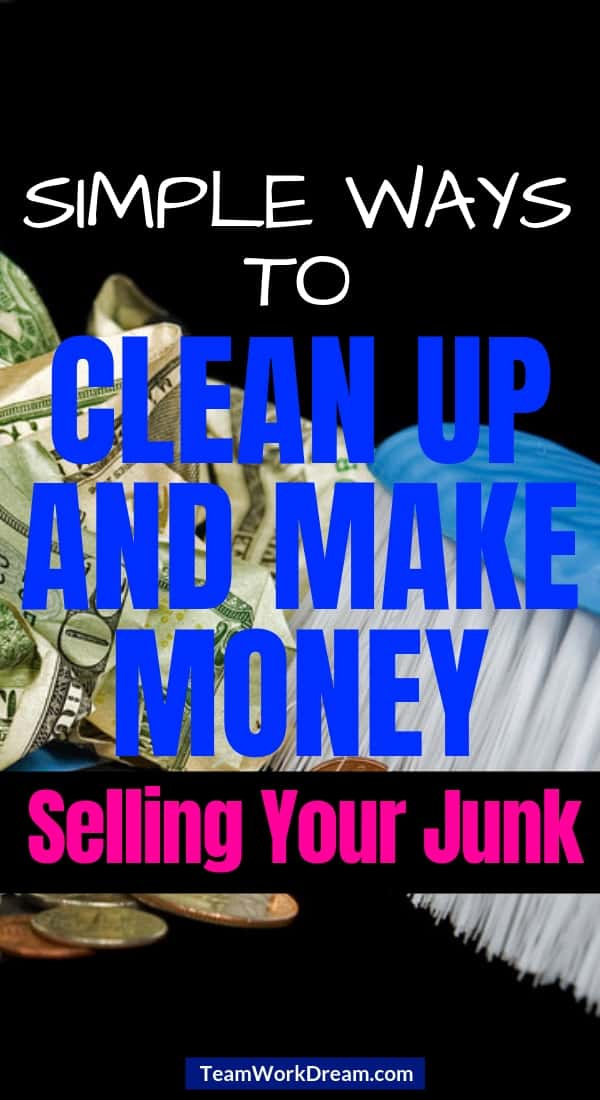 Declutter and make money selling your junk