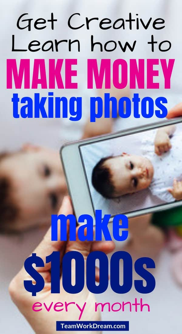 Someone taking picture of baby using smartphone