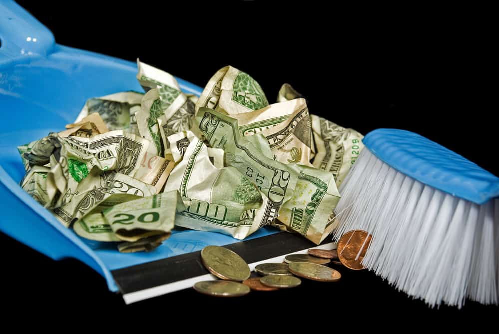 decluttering and making money