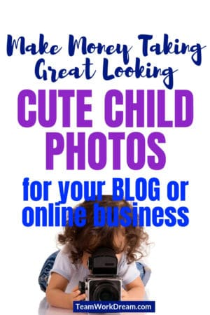 Make money by creating cute child images on you blog or ecommerce site. Create beautiful stock images for your work from business and earn a passive income again and again just by taking great looking photos of your kids. #cutechildimages #stockimages #childrenphotography #earnmoneyonline #workfromhomejobs #momblogger