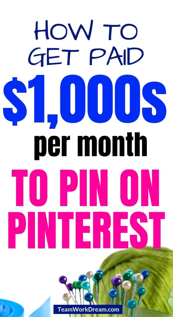 Getting paid to pin on Pinterest