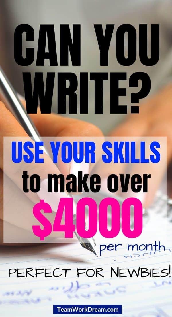 freelance writing skills