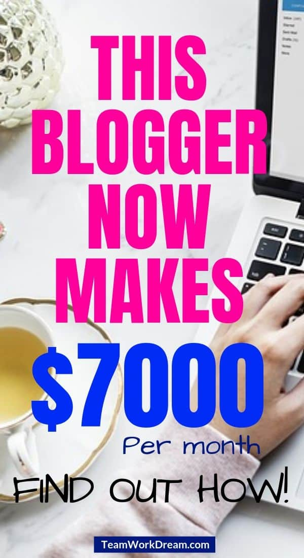 How a blogger makes a full-time income