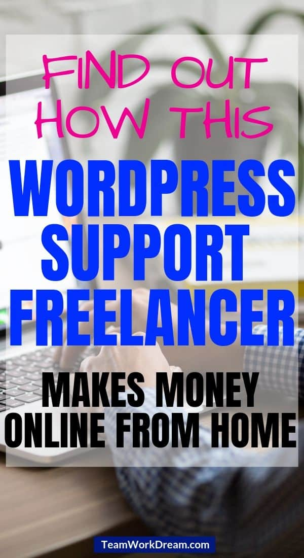 WordPress Support Freelancer providing a service