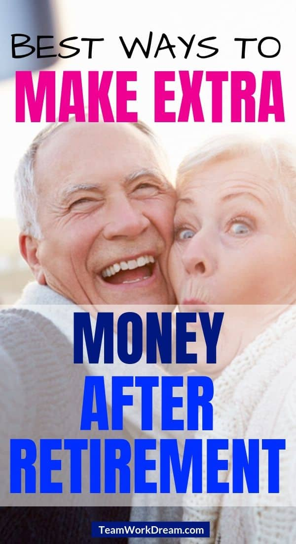 retired couple doing fun activities to make extra income
