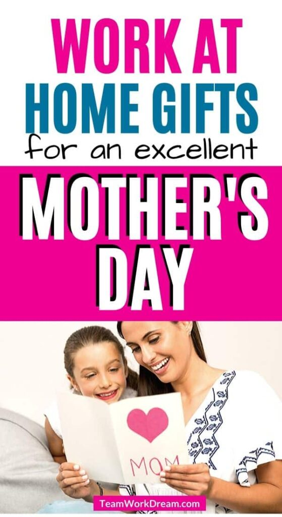 Mom and daughter looking at mothers day card..best mothers day gift ideas that moms will appreciate