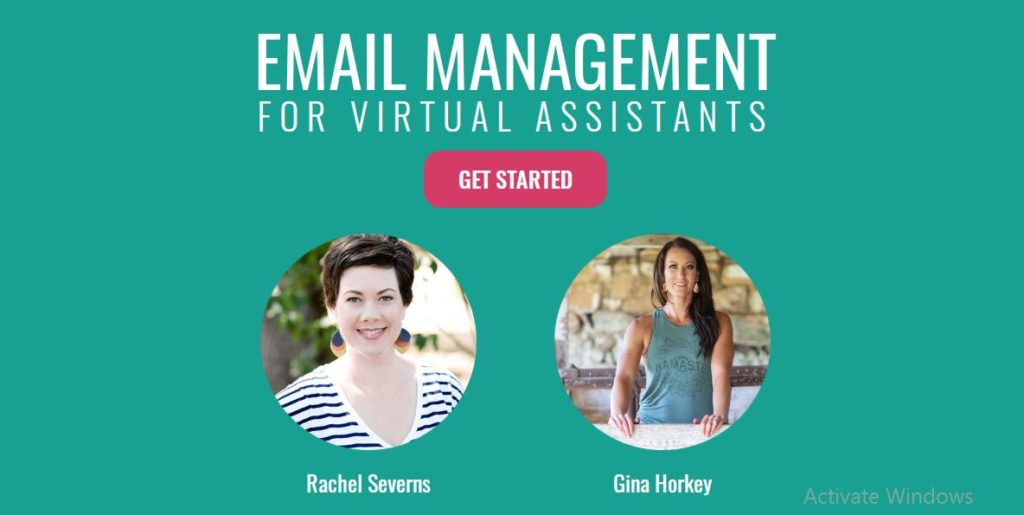 Non phone work at home job course of email management