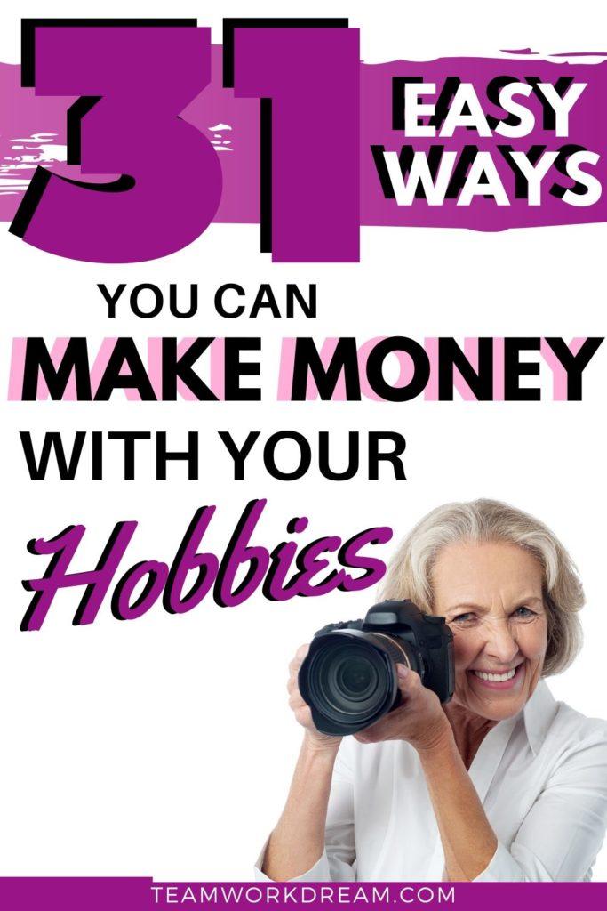 Easy Money Making Hobby