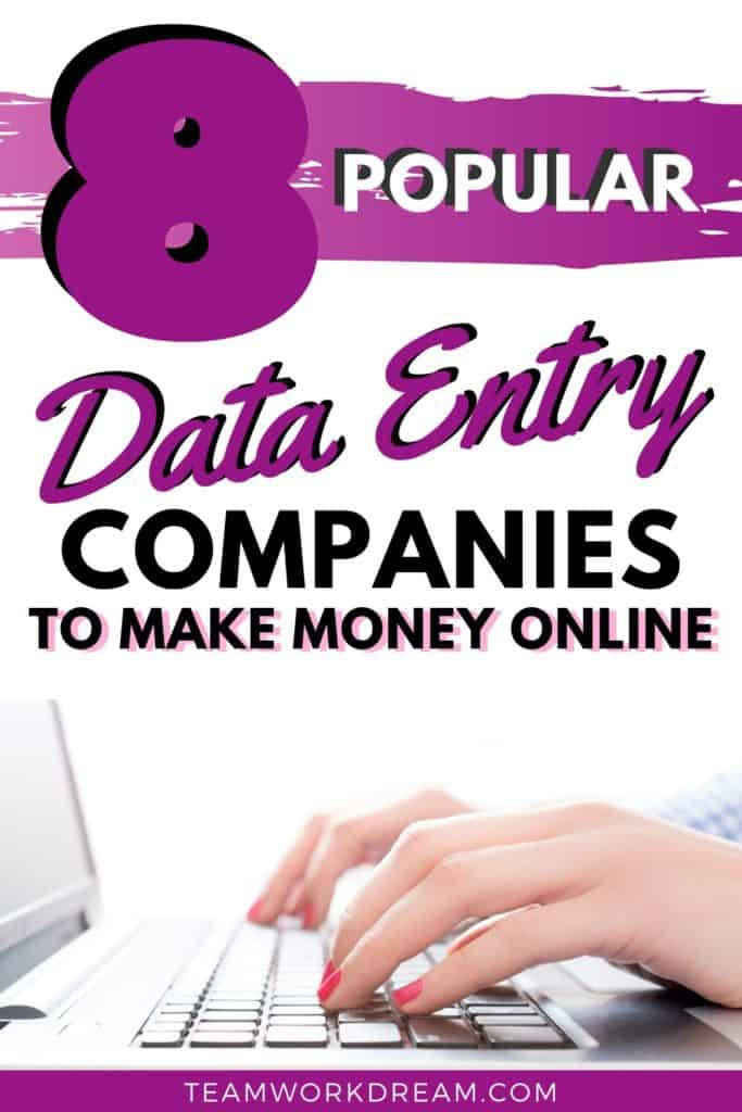 Popular Remote Data Entry Jobs