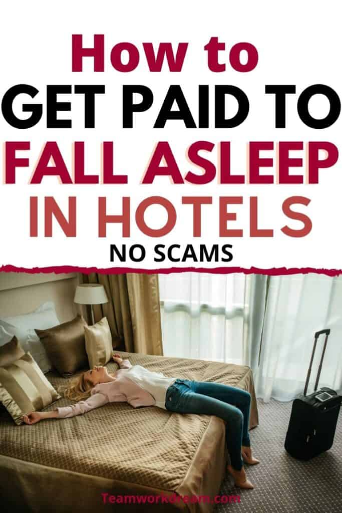 How to get paid to sleep in hotels as a hotel mystery shopper.